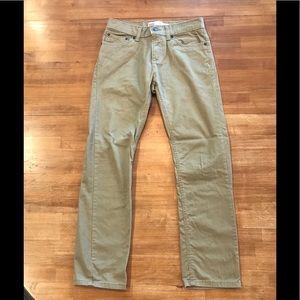 Levi's Khaki 511 Slim Jeans